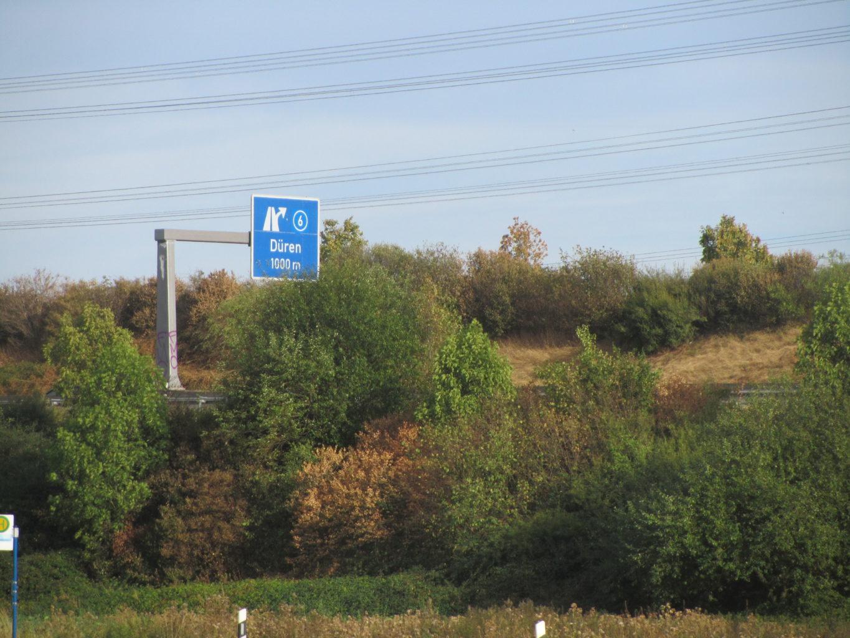 A4 zwischen Merken und Hoven