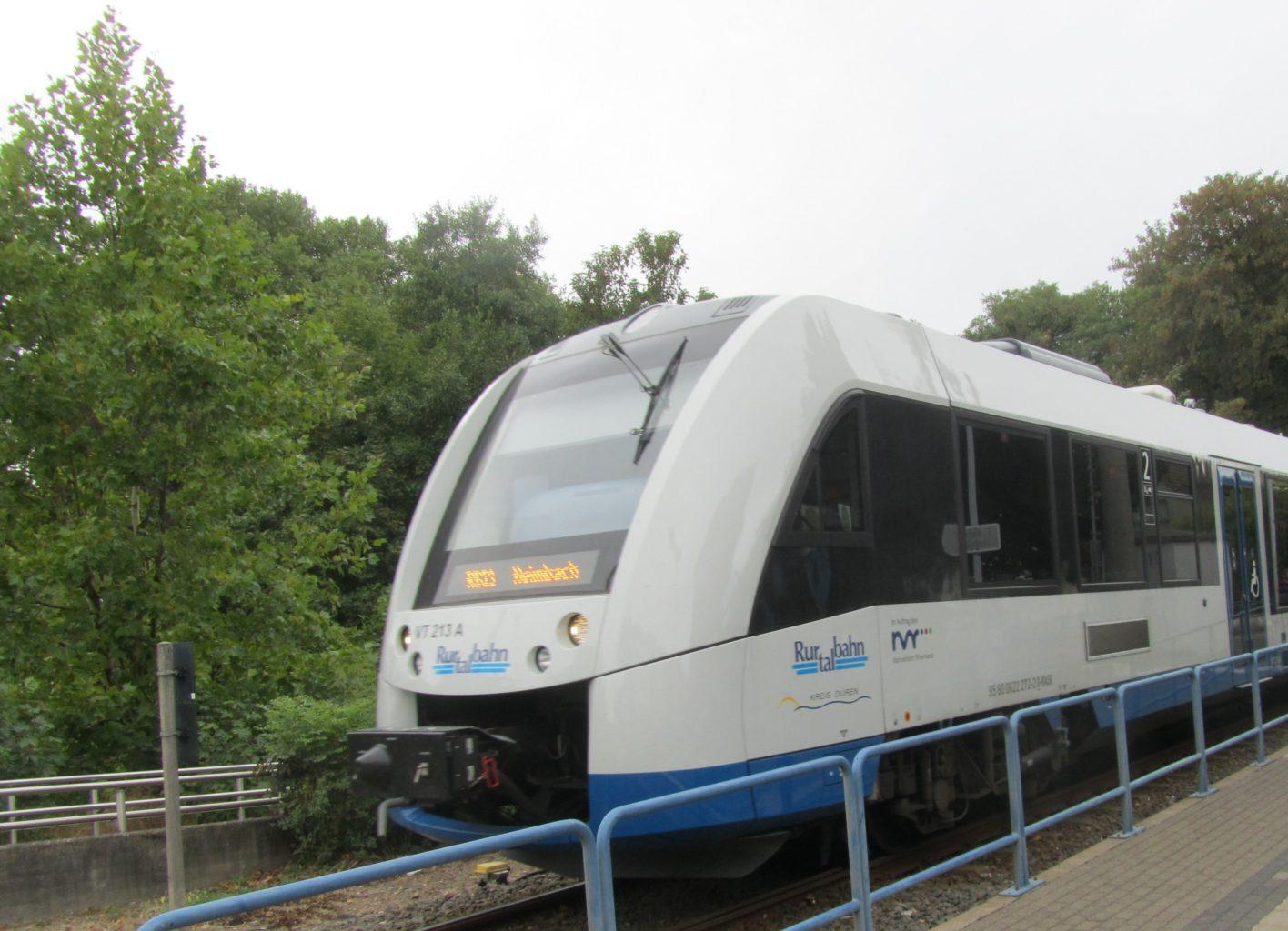 Rurtalbahn am Annakirmesplatz