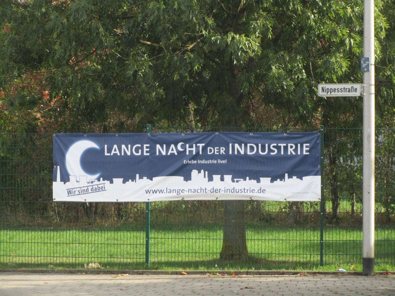 Plakat zur Langen Nacht der Industrie