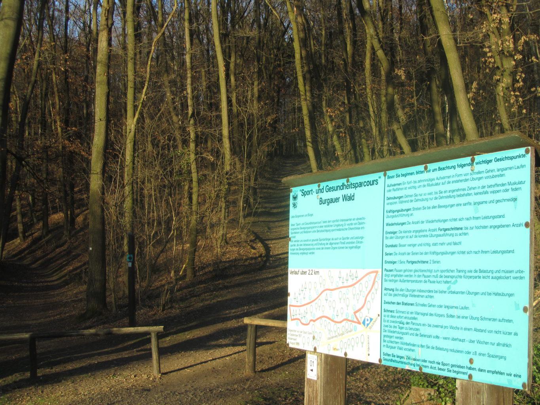 Sport- und Gesundheitsparcours Burgauer Wald