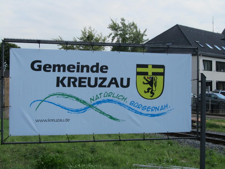 Werbeplakat Gemeinde Kreuzau
